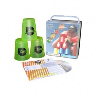 - FlashCups - 12 Stück - lemon mit Lunchbox+DVD