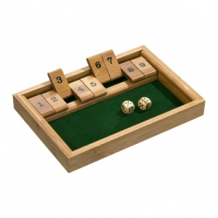 Shut The Box 9er - Bambus