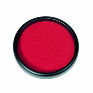 Würfelteller - 26 cm mit Würfel - rot