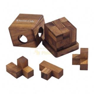 Knossos-Cube - Denkspiel - Knobelspiel - Geduldspiel