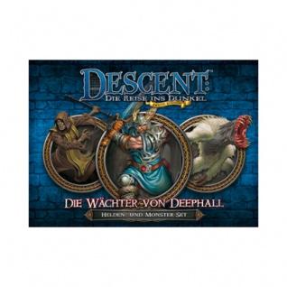 Descent 2. Edition - Wächter von Deephall - Helden- und Monster-Set