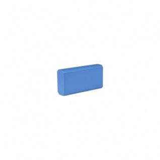 Baustein - Leiste klein - 50x12, 5x25 mm - hellblau