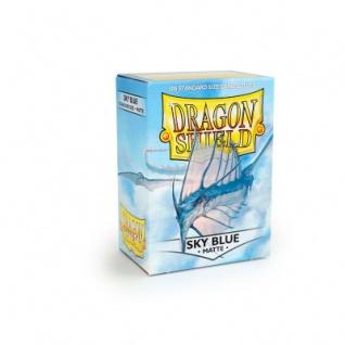 Dragon Shield Matte - Himmelblau - 100 Stück