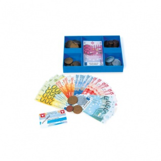 Spielgeld- Kassette