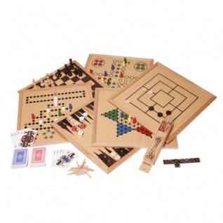Spielesammlung - Holz - Premium Edition