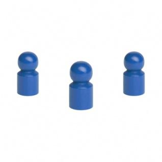 Destinokegel - klein - 15x29mm - blau