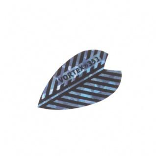 3 x Fly Vortex XS 1 - blau - Aluminium-Beschichtung