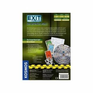 EXIT - Das Spiel - Das geheime Labor - Vorschau 2