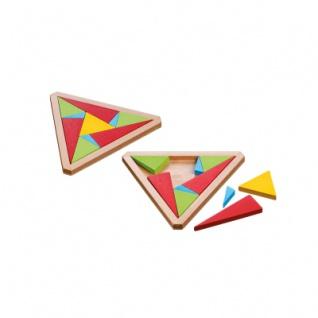 Triangular Puzzle - Level 3 - 10 Puzzleteile