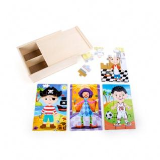 Puzzle-Box 4 in 1 - Jungs im Kostüm