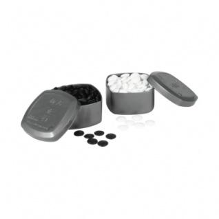 Go Spielsteine aus Glas - 20, 3 x 7, 2 mm - mit Boxen - 160 Stück
