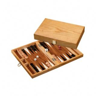 Mathraki - klein - Backgammon aus Eschenholz