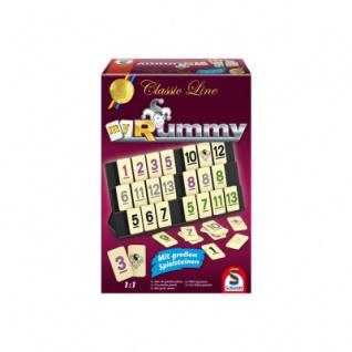 Classic Line - Rummy - gr Spielfiguren - Neu