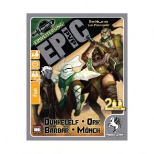 Epic PvP Erweiterung 1 - Dunkelelf - Ork - Barbar und Mönch