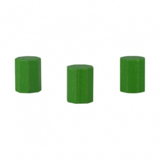 Achteckstein Landmark - 15x20mm - grün