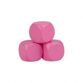 Blankowürfel - 20mm - rosa