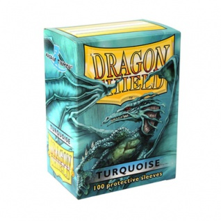Dragon Shield - Turquoise - 100 Stück