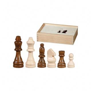 Schachfiguren - Otto I - KH 76 mm - Birke