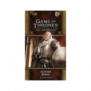 GoT Kartenspiel - Der Eiserne Thron - 2. Edition D - Echter Stahl - Westeros6
