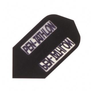 3 x Fly Pen-Tathlon - Slim Flight - schwarz - Kunststoff - 100 My