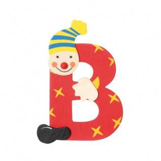 Buchstabe Clown B