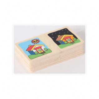 Holzpuzzle-Set Gegensätze (10) in Holzbox - Vorschau 5