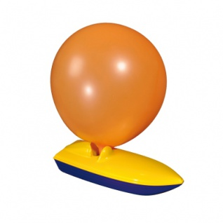 Luftballon-Boot farbig - Vorschau 2