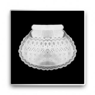 Servierschürze - weiß - 25 cm