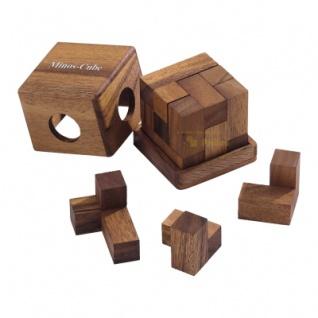 Minos-Cube - Denkspiel - Knobelspiel - Geduldspiel