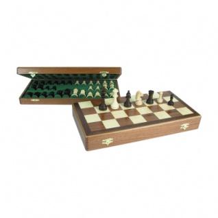 Schachkassette - Mahagoni - Feldgröße 42 mm - Königshöhe 64 mm