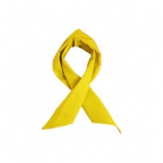 Dreiecktuch - gelb