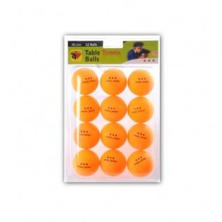 Tischtennis - Bälle - 3-Stern - orange - 12 Stück