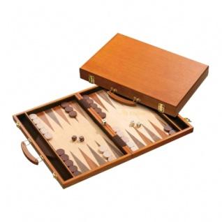 Backgammon - Koffer - Ippokratis - Holz - groß