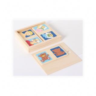 Holzpuzzle-Set Gegensätze (10) in Holzbox - Vorschau 3