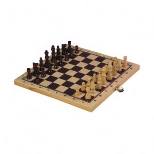 Schach - Dame und Backgammonkassette