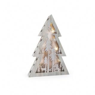 Leuchttannenbaum Shabby Chic - groß