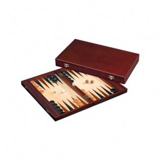 Tilos - groß - Backgammon - Kassette - bordeaux