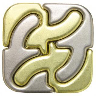 Cast Puzzle Square - Metallpuzzle - Level 6