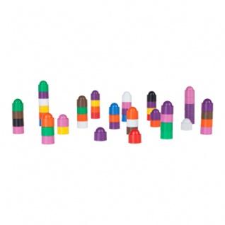 Spielfigur Tower - stapelbar - rosa - Kunststoff - 12 x 13 mm - Vorschau 5