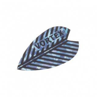 3 x Fly Vortex X 2 - blau - Aluminium-Beschichtung