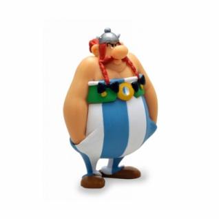 Asterix - Figur Obelix wütend mit Händen in den Taschen