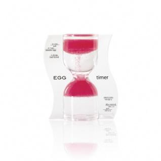 Sanduhr EGG timer - Eieruhr - rosa - 10 Minuten