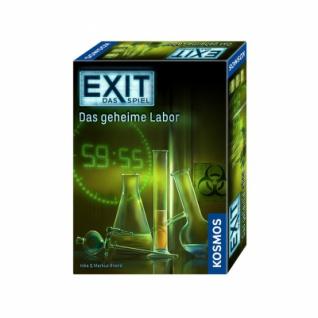 EXIT - Das Spiel - Das geheime Labor - Vorschau 1