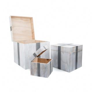 Holztruhe - Geschenk