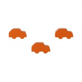 Kleinwagen - Pkw - Auto - 21x12x8mm - orange