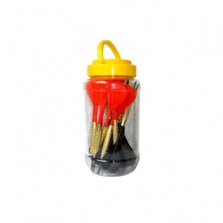 Softdarts BOX - 18 Stück - rot und schwarz