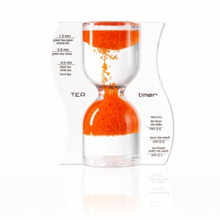 Sanduhr TEA timer - orange - 5 Minuten
