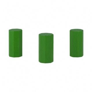 Achteckstein Hancock - 15x30mm - grün