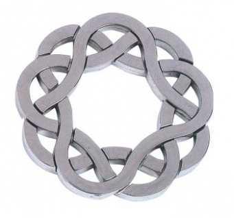 Cast Puzzle Coaster - Metallpuzzle - Level 4