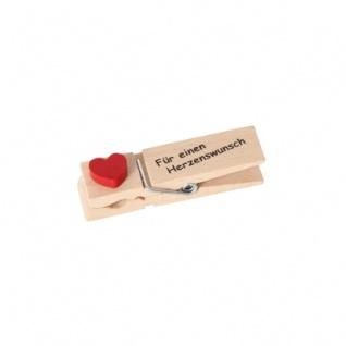 Geldklammer Für einen Herzenswunsch